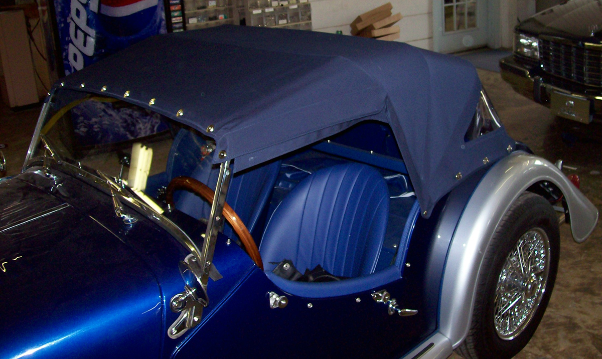 Auto Interiors and Tops | repair convertible tops Raleigh